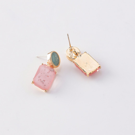 Серьги Ноэми, розовые