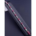 Браслет 'XUPING' Фианит 18 см. (родий) - 80712