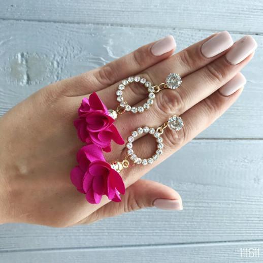 Серьги Summer Розовые
