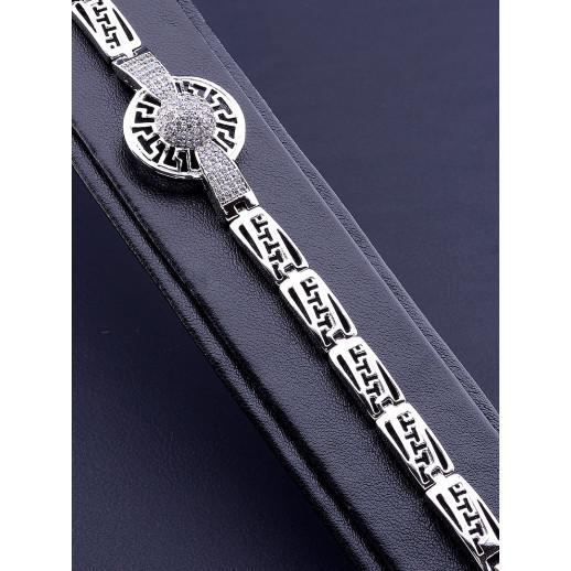 Браслет 'XUPING' Фианит 17 см. (родий) - 80665