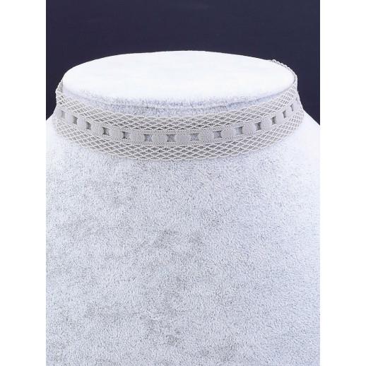 Чокер 'FJ' Ткань 30 см. - 38488