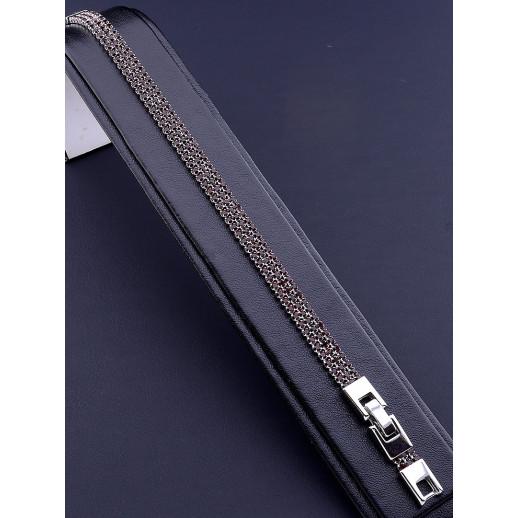 Браслет 'XUPING' Фианит 17 см. (родий) - 80713