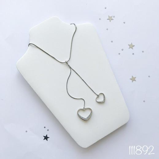 Подвеска silver heart
