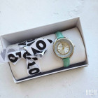 Реплика часов Swarovski мятные