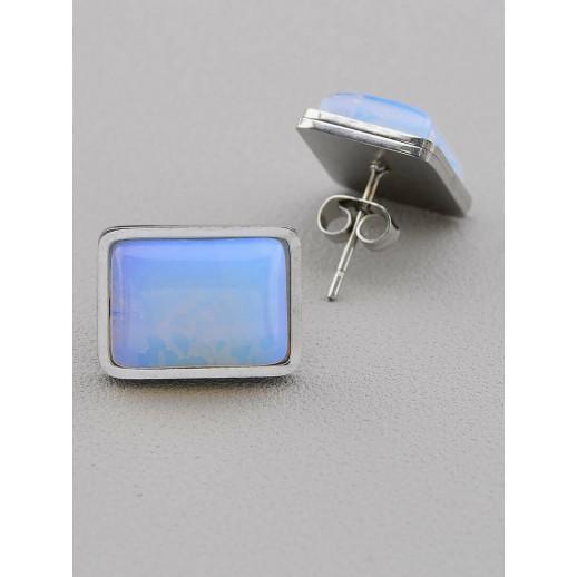 Серьги Лунный камень - 51054