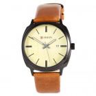 Часы Curren Black-Brown Gold dial 8212-2