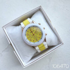 Реплика часов Geneva желтые