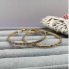 Серьги кольца Ясмин