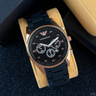 Часы Emporio Armani Silicone Gold-Black