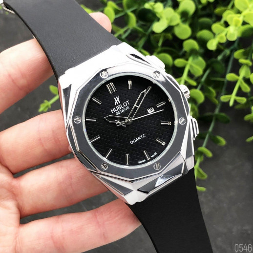 Часы Hublot Big Bang Brink 882888 Silver-Black