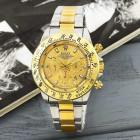 Часы Rolex Daytona Quartz Date Silver-Gold-Gold