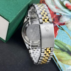 Часы Rolex Date Just Silver-Gold-Black