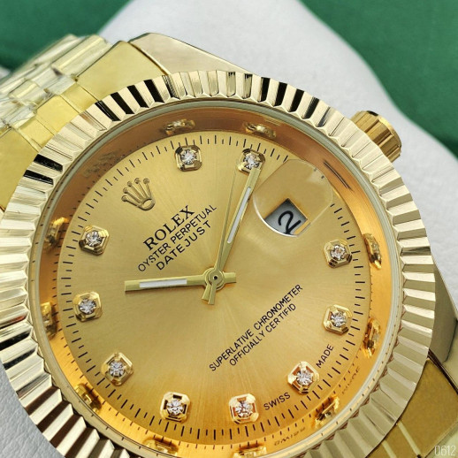 Часы Rolex Date Just All Gold