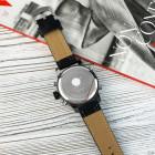 Часы AMST 3022 All Black Fluted Wristband